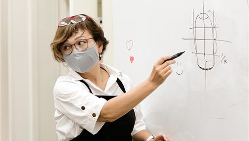キャリエールは、生徒さんだけが技術を磨くスクールではありません。