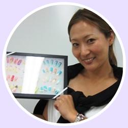 ネイリスト技能検定試験2級 ジェルネイル検定 合格 平川 優子さん(35歳)